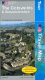 Ordnance Survey - The Costwolds & Gloucestershire - 1/100 000.