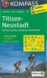 Kompass - Titisee-Neudstadt - Hinterzarten, Lenzkirch, Bonndorf, 1/25000.