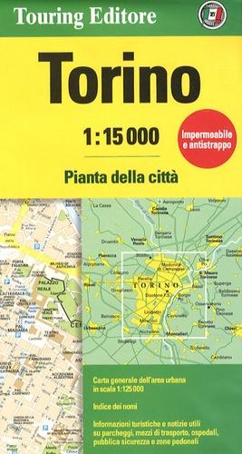 Touring Editore - Torino - 1/15 000.
