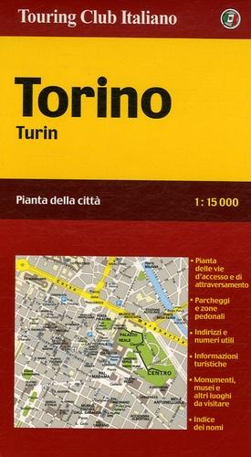 Touring Editore - Turin - 1/15 000.