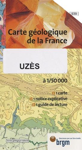 L. Damiani - Uzès - 1/50 000.