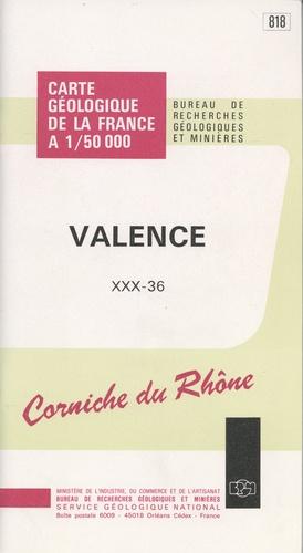 BRGM - Valence - 1/50 000.