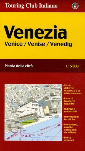Touring Club Italiano - Venezia - Pianta della città, 1/5 000.