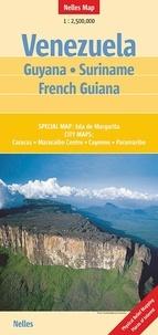Nelles - Venezuela Guyana Suriname French Guiana - 1/2 500 000.