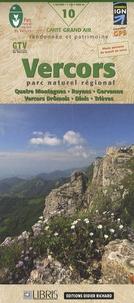 IGN - Vercors, parc naturel régional : Quatre Montagnes, Royans, Gervanne, Vercors Drômois, Diois, Trièves - 1/60 000.