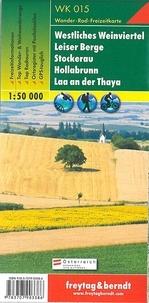 Freytag & Berndt - Westliches Weinviertel, Leiser Berge, Stockerau, Hollabrunn, Laa an der Thaya - 1/50 000.