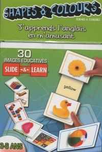Cartothèque - Shapes & Colours (formes & couleurs) - 30 images éducatives Slide & Learn 3-6 ans.