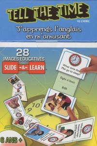 Cartothèque - Tell the Time (dis l'heure) - 28 images éducatives Slide & Learn 3-6 ans.