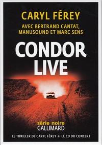 Caryl Férey - Condor - Live. 1 CD audio