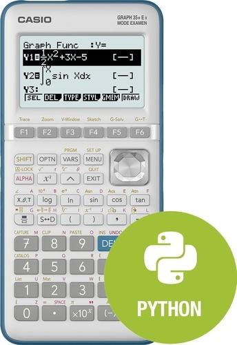 CASIO - Calculatrice Graphique Casio GRAPH 35+E menu python intégré- Mode examen