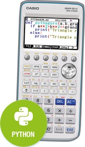 CASIO - Calculatrice Graphique GRAPH 90+E Python