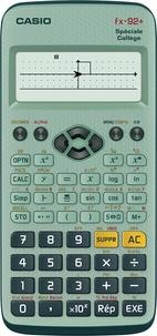 CASIO FRANCE - Calculatrice Scientifique Casio FX-92+ Spéciale Collège