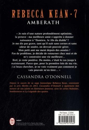 Rebecca Kean Tome 7 Amberath
