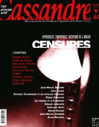 Cassandre - Cassandre N° 44 Novembre-Décembre 2001 : Censures invisibles.