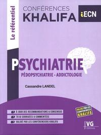 Cassandre Landel - Conférences Khalifa Psychiatrie - Pédopsychiatrie, addictologie.