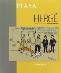 Hergé - Catalogue piasa 2016.