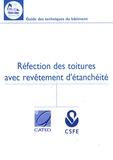 CATED - Réfection des toitures avec revêtement d'étanchéité.