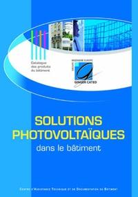 CATED - Solutions photovoltaïques dans le bâtiment.