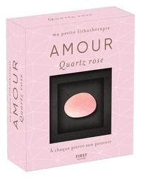 Catérina Zita - Amour - Quartz rose. Avec 1 livret de 47 pages et 1 quartz rose.
