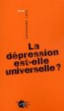 Catherine A. Lutz - La dépression est-elle universelle ?.