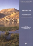 Catherine Abadie-Reynal et Jean-Baptiste Yon - Zeugma - Volume 6, La Syrie romaine : permanences et transferts culturels.