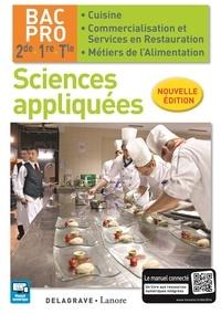 Catherine Armagnac et Valérie Costes - Sciences appliquées 2de 1ere Tle bac pro cuisine élève.