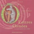 Catherine Auguste - Lettres Ornées.