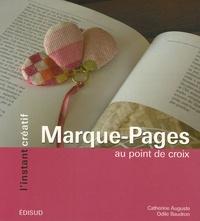 Catherine Auguste et Odile Baudron - Marque-Pages - Au point de croix.