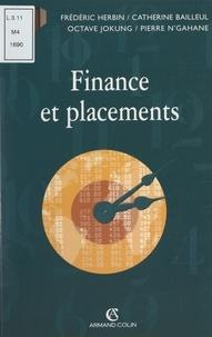 Catherine Bailleul et Frédéric Herbin - Finance et placements.
