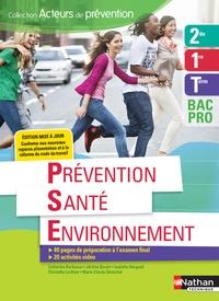 Téléchargement du livre électronique Kindle Prévention santé environnement 2de 1re Tle Bac Pro Acteurs de prévention