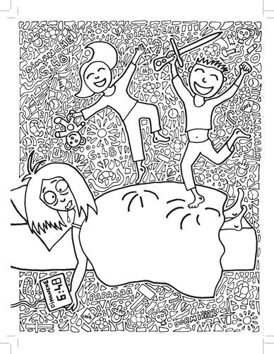 L Anti Mandala Cahier De Coloriages Pour Adultes Catherine Bertrand Livres Furet Du Nord