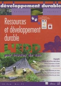Catherine Biaggi et Claude Censier - Ressources et développement durable. 1 Cédérom