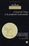 Catherine Blaizot-Hazard - L'éveil de l'Asie à la propriété industrielle - Colloque des 11-12 janvier 2006, Paris.