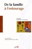 Catherine Bonvalet et Eva Lelièvre - De la famille à l'entourage - L'enquête biographies et entourage.