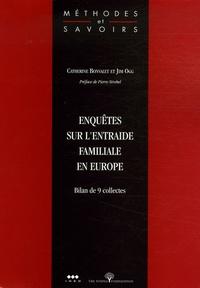 Catherine Bonvalet et Jim Ogg - Enquêtes sur l'entraide familiale en Europe - Bilan de 9 collectes.