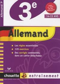 Catherine Boularand - Allemand 3e - Niveau A1+/A2 du CECR.