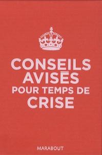 Catherine Bricout - Conseils avisés pour temps de crise.