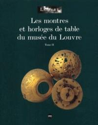 Histoiresdenlire.be Les montres et horloges de table du musée du Louvre. Tome 2 Image