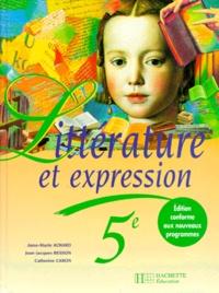 LITTERATURE ET EXPRESSION 5EME. Edition 1997.pdf