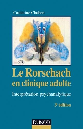 Le Rorschach en clinique adulte - Format PDF - 9782100577521 - 22,99 €