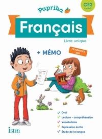 Catherine Chapoulaud et Valérie Hélie - Français CE2 cycle 2 Paprika - Livre unique + mémo.