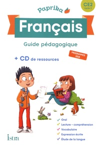 Catherine Chapoulaud et Valérie Hélie - Français CE2 Cycle 2 Paprika - Guide pédagogique. 1 Cédérom