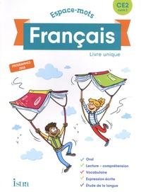 Catherine Chapoulaud et Valérie Hélie - Français CE2 Espace-mots - Livre unique.