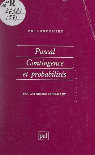 Pascal - Catherine ChevalleyFrançoise BalibarJean-Pierre LefebvrePierre MachereyPierre-François Moreau - Format PDF - 9782705942618 - 6,49 €