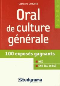 Oral de culture générale - Catherine Choupin |
