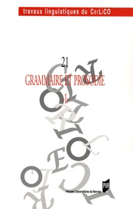 Catherine Collin - Grammaire et prosodie - Tome 1.