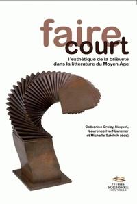 Deedr.fr Faire court - L'esthétique de la brièveté dans la littérature du Moyen Age Image