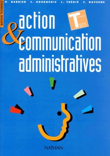Catherine Davesne et Christiane Bourgeois - Action et communication administratives - Terminales STT.