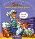 Catherine de Lasa et Claude Lapointe - Oscar aime jouer avec papa.