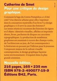 Catherine de Smet - Pour une critique du design graphique.